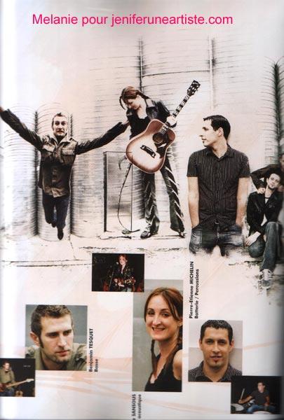 programme de sa tournée 2004/2005 19